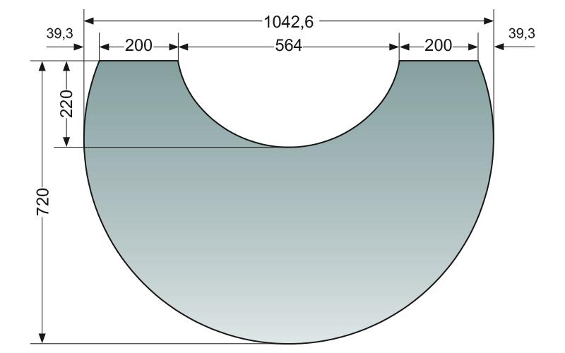 ORANIER VORLEGEPLATTE ZU POLAR NEO 6 / BAKERY UND VANTAGE W+